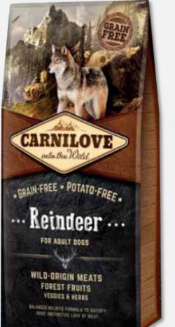 CARNILOVE REINDEER - Boutique Chien - Croquettes